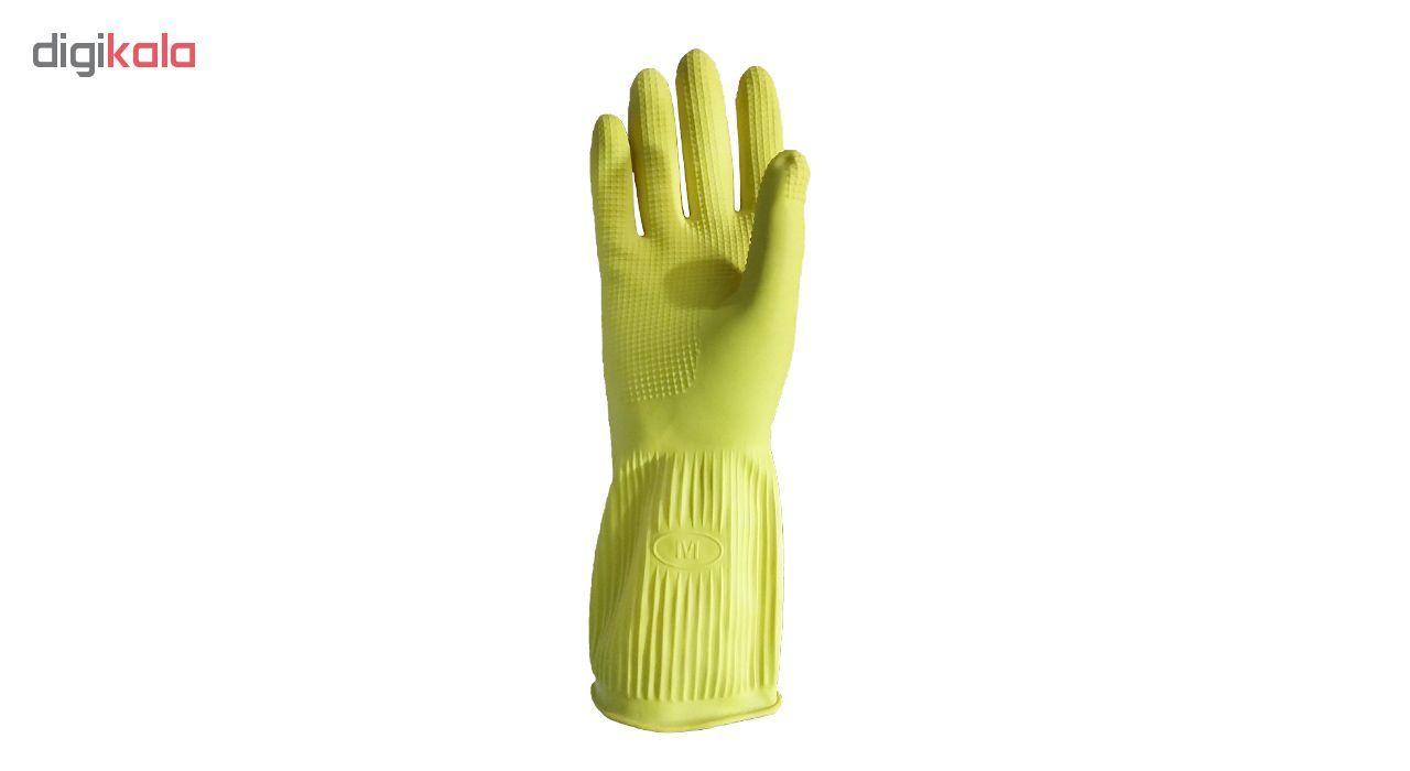 دستکش آشپزخانه  ویولت مدل ساق کوتاه سایز متوسط کد 01 main 1 2
