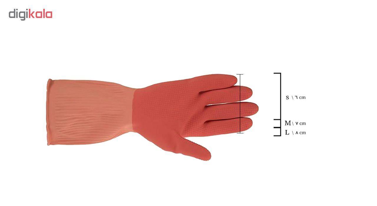 دستکش آشپزخانه ویولت مدل ساق کوتاه سایز بزرگ کد02  main 1 1