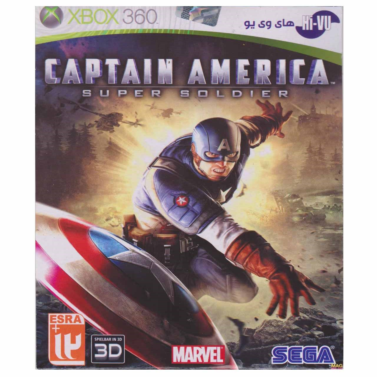 بازی Captain America مخصوص ایکس باکس 360