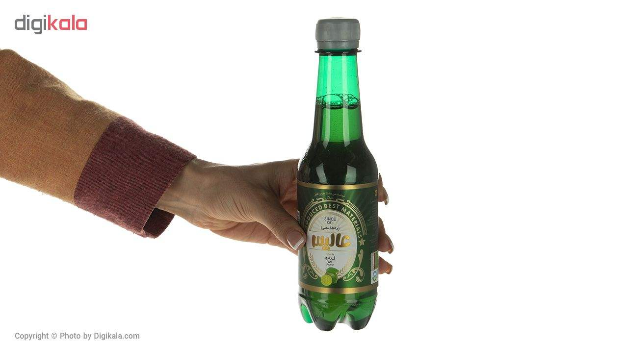 نوشیدنی مالت عالیس با طعم لیمو مقدار 320 میلی لیتر main 1 3