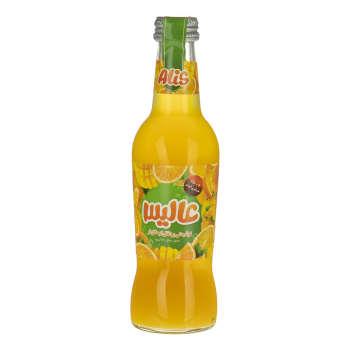 نوشیدنی پرتقال انبه گازدار عالیس - 250 میلی لیتر
