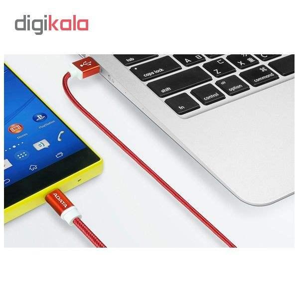 کابل تبدیل USB به microUSB ای دیتا مدل Sync And Charge طول 1 متر main 1 7