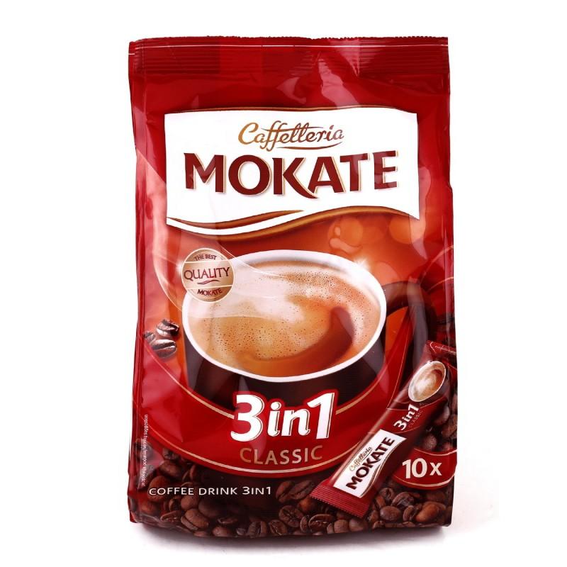 قهوه فوری کلاسیک 3در1 موکاته بسته 10 عددی