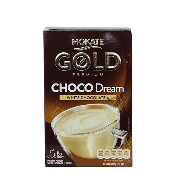 قهوه فوری موکاته مدل Gold Choco Dream بسته 8 عددی