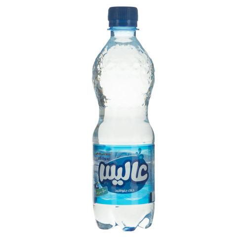 آب معدنی طبیعی بدون گاز عالیس مقدار 500 میلی لیتر
