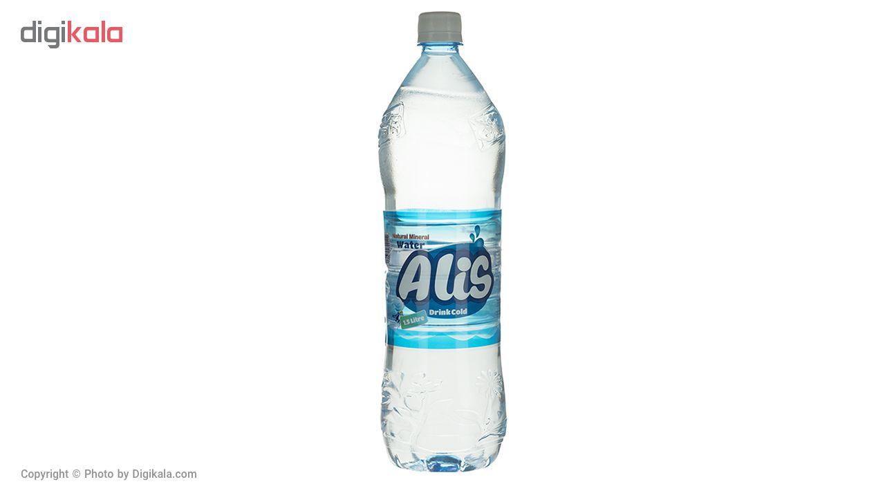 آب معدنی طبیعی عالیس مقدار 1500 میلی لیتر بسته 6 عددی