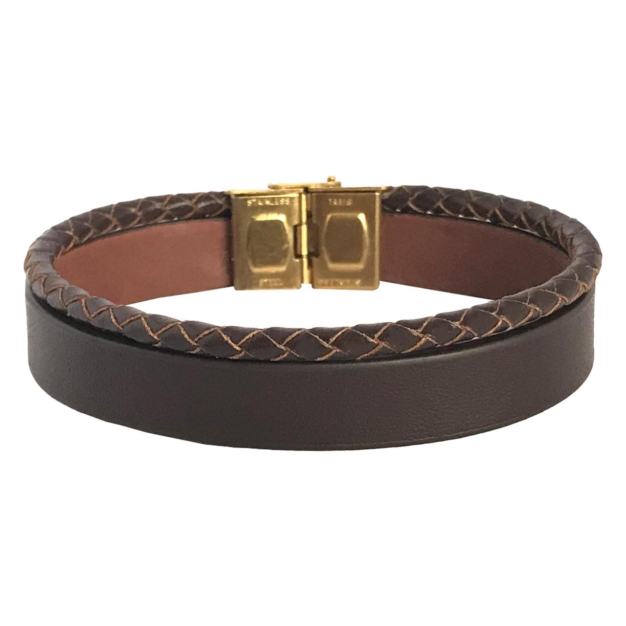 قیمت دستبند چرمی ام استایل مدل BL03
