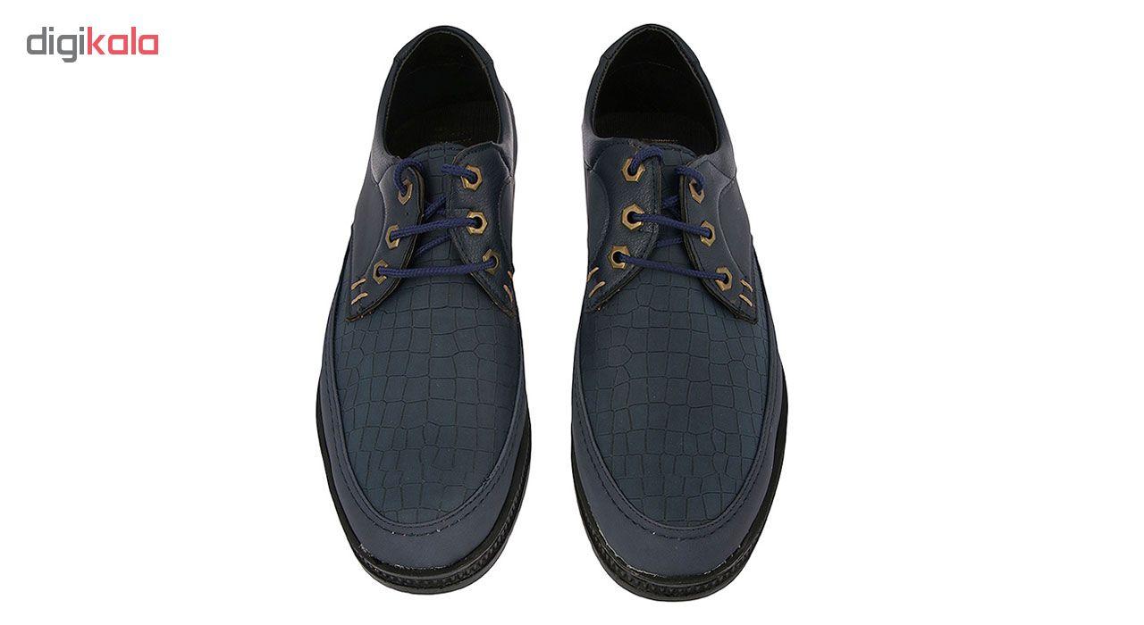 کفش بندی مردانه هورس سرمه ای کد 324000414