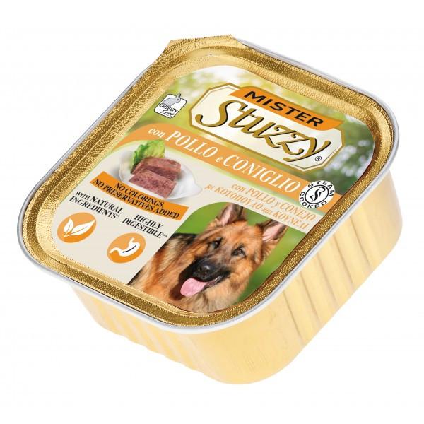 خوراک سگ استوزی مدل Chicken & Rabbit-40404 با طعم مرغ و خرگوش وزن 300 گرم