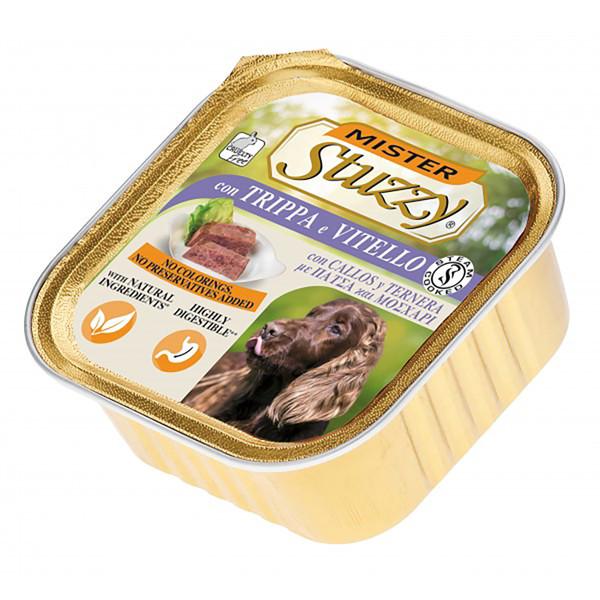 خوراک سگ استوزی مدل Tripe & Calf-40305 با طعم سیرابی و گوساله وزن 300 گرم