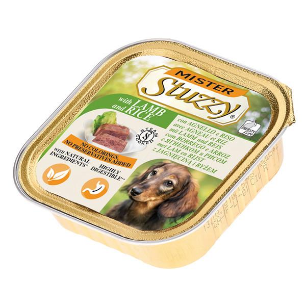 خوراک سگ استوزی مدل Lamb With Rice-10614 با طعم بره و برنج وزن 150 گرم