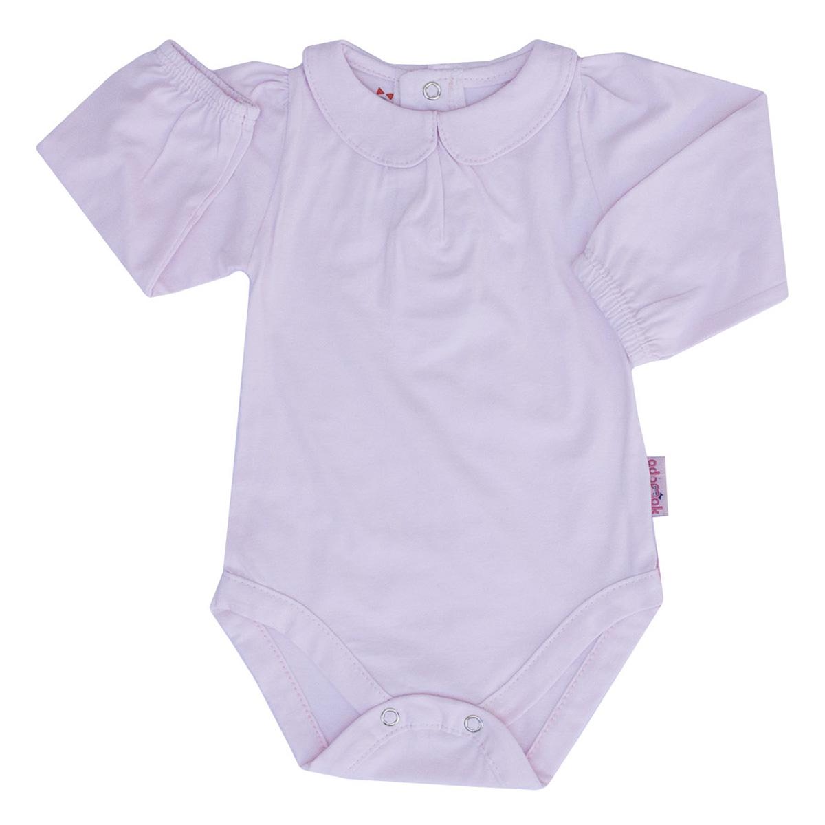لباس زیر دکمه دار نوزادی آدمک مدل 176500 رنگ صورتی روشن