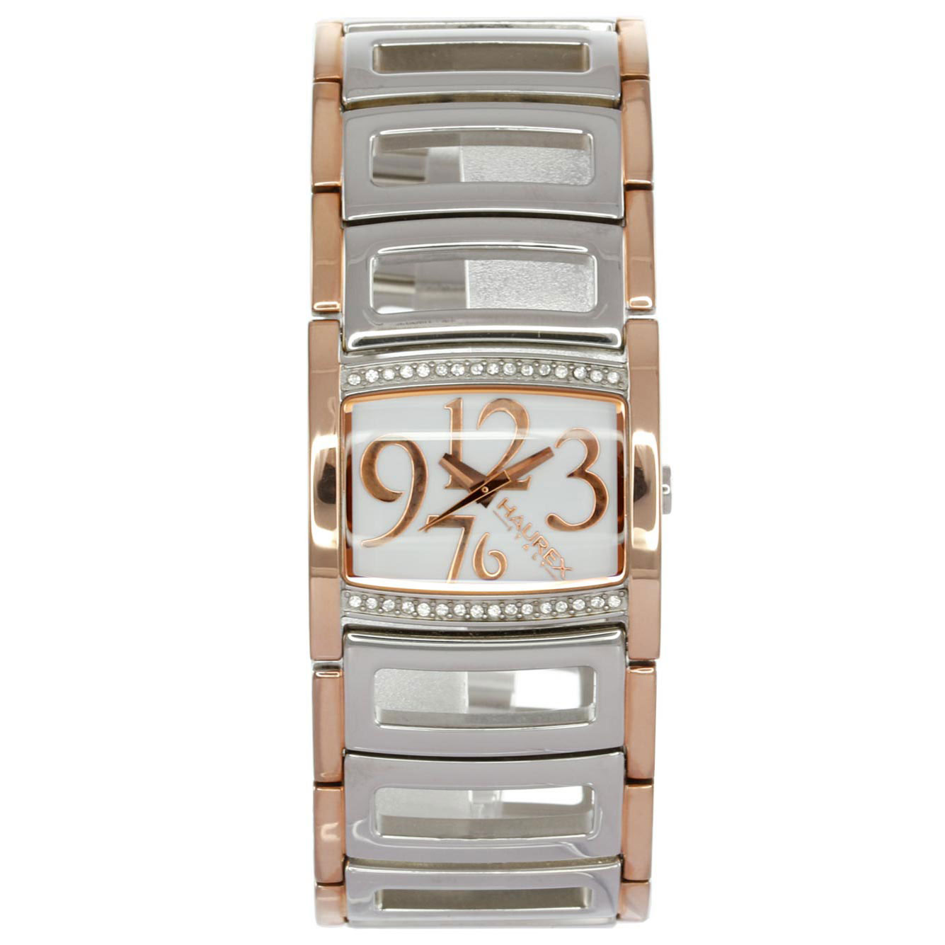 ساعت مچی عقربه ای زنانه هورکس مدل ZQHX-XU345DWH 4