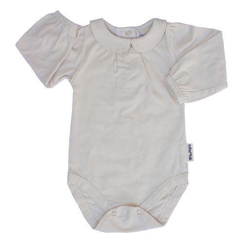 لباس زیر دکمه دار نوزادی آدمک مدل 176500 رنگ کرم