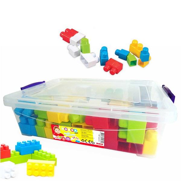 بلوکهای ساختنی 58 تکه دولو  مدل Big Blocks کد 5089