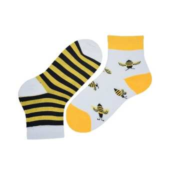 جوراب بچگانه طرح زنبور مدل pa-ara