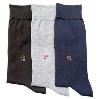 جوراب مردانه کد R301 مجموعه 3 عددی