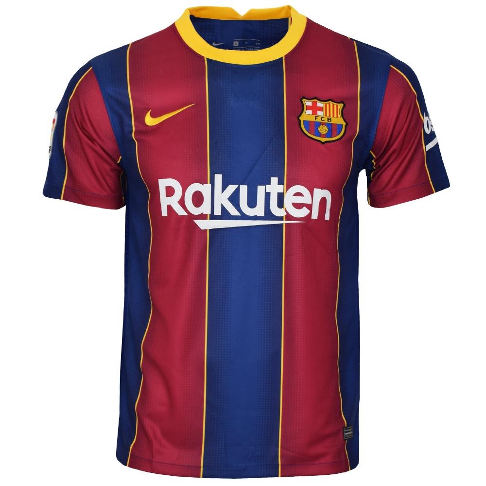 تیشرت ورزشی مردانه طرح بارسلونا کد home2021