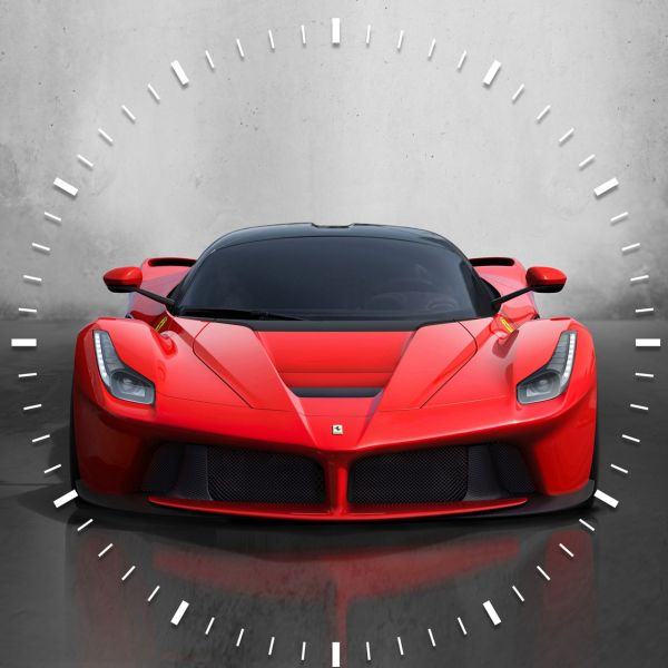 ساعت دیواری ویولت دکور مدل Ferrari S16