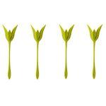 نگهدارنده دستمال سفره طرح گل رز بسته 4 عددی thumb