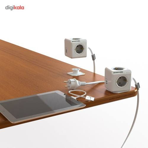 چندراهی برق الوکاکوک مدل پاورکیوپ Extended USB با کابل 3 متری