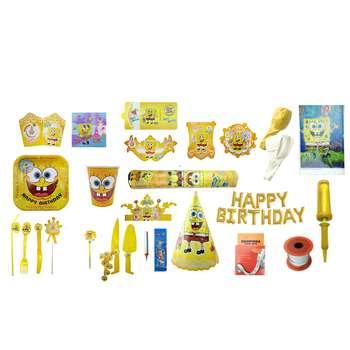 پک جشن تولد تم باب اسفنجی