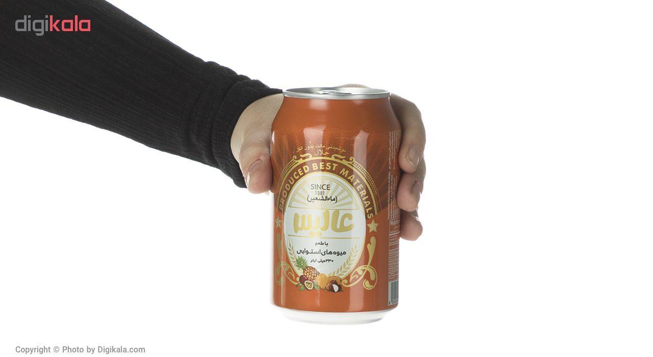 نوشیدنی مالت عالیس با طعم میوه های استوایی مقدار 330 میلی لیتر main 1 4