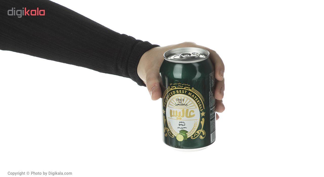نوشیدنی مالت عالیس با طعم لیمو مقدار 330 میلی لیتر main 1 4