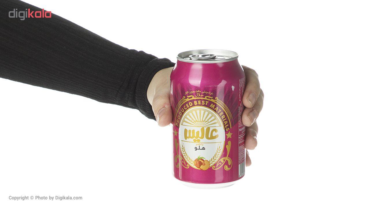 نوشیدنی مالت عالیس با طعم هلو مقدار 330 میلی لیتر main 1 4