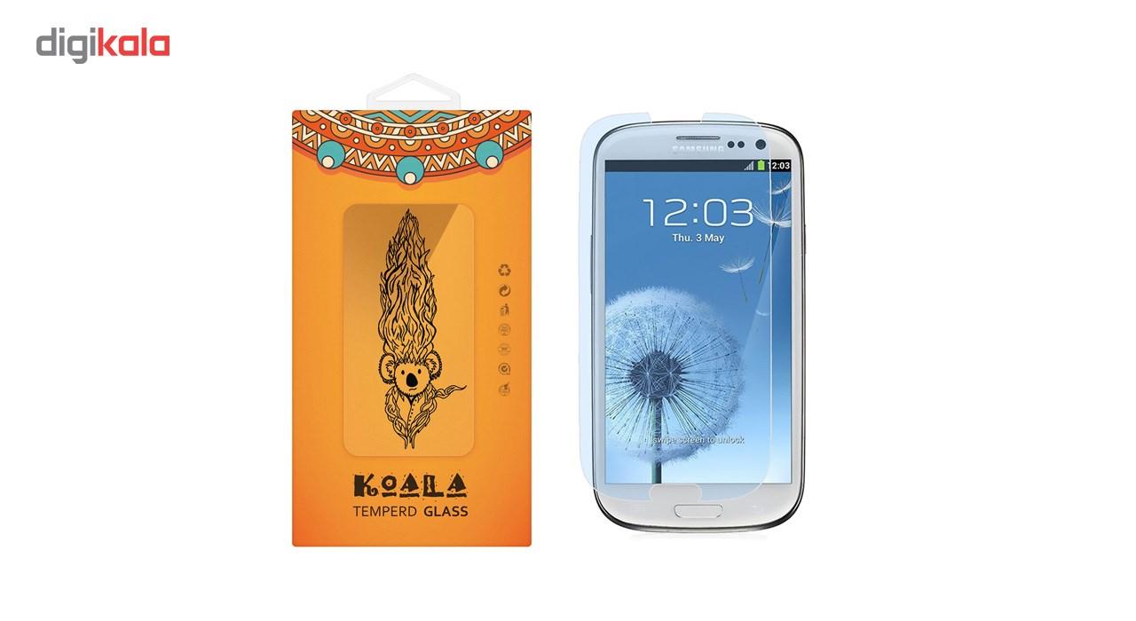 محافظ صفحه نمایش شیشه ای کوالا مدل Tempered مناسب برای گوشی موبایل سامسونگ Galaxy S3 main 1 1