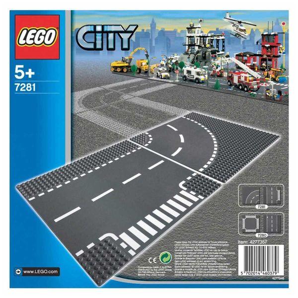 لگو سری City مدل T-Junction And Curve 7281