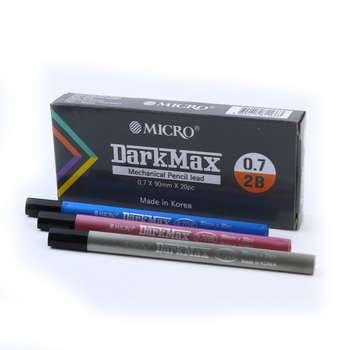 نوک مداد نوکی میکرو مدل DarkMax قطر نوشتاری 0.7 میلی متر بسته 12 عددی