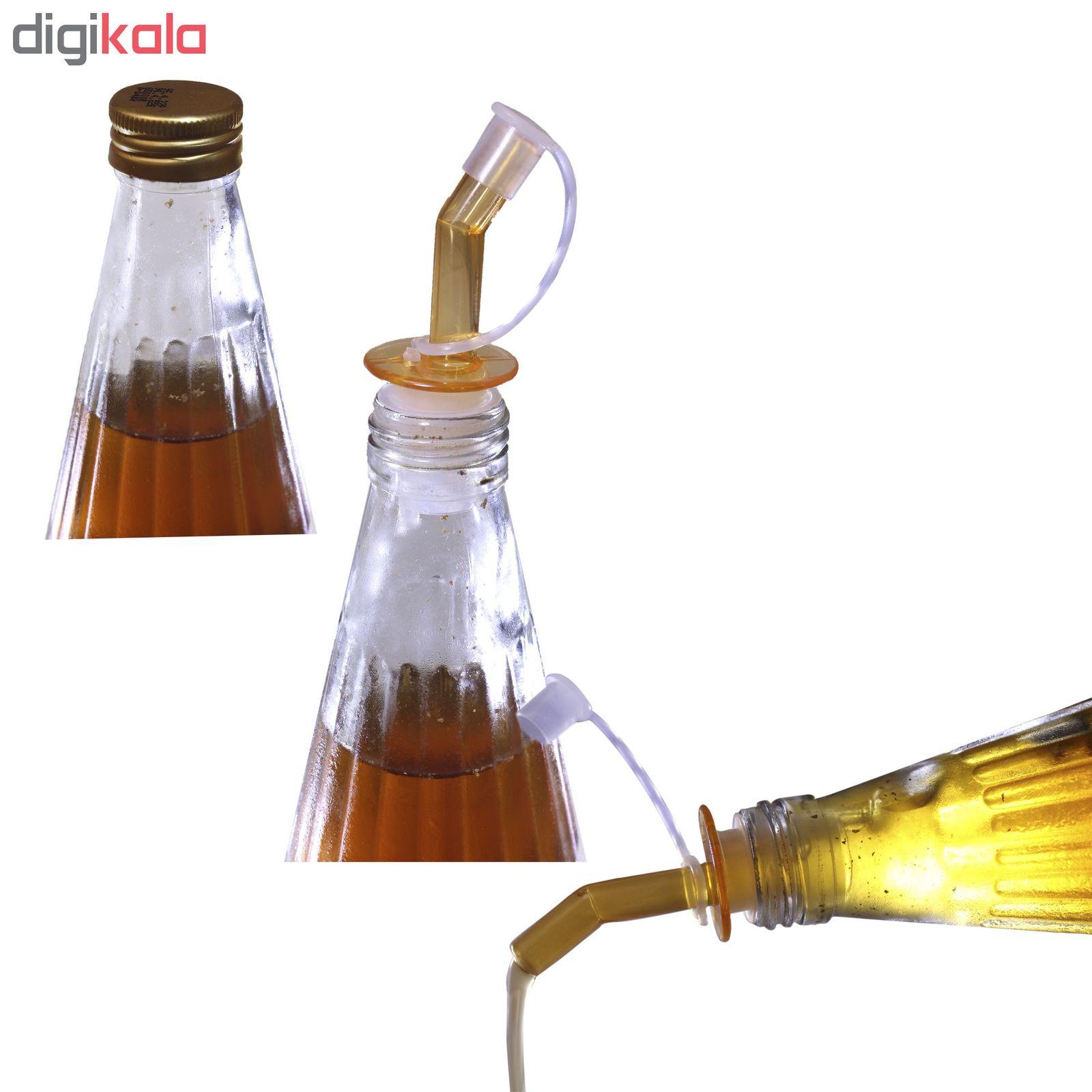 درپوش و آرام ریز بطری مدل TK03 بسته سه عددی main 1 2