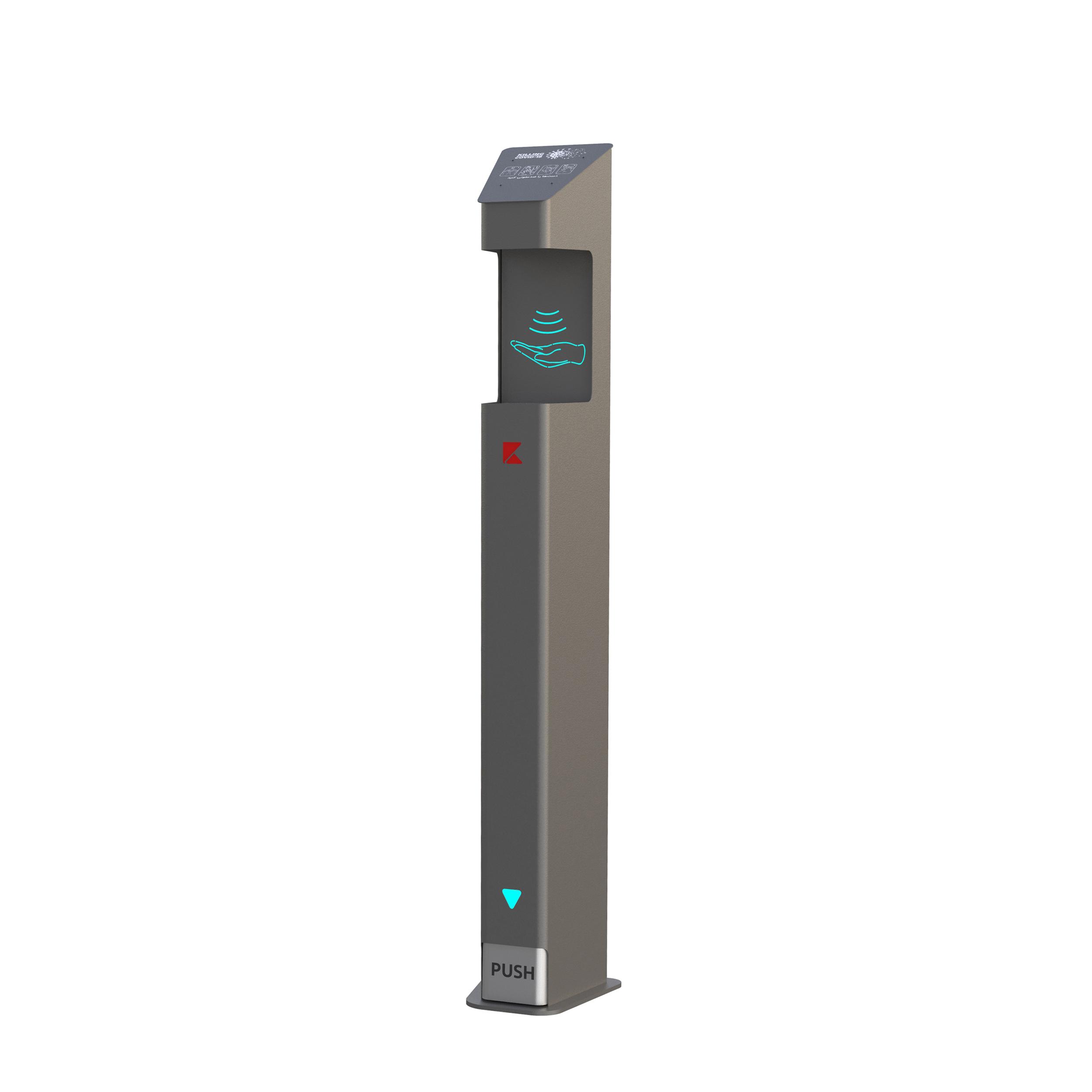 دستگاه ضد عفونی کننده دست مدل گاما پرو