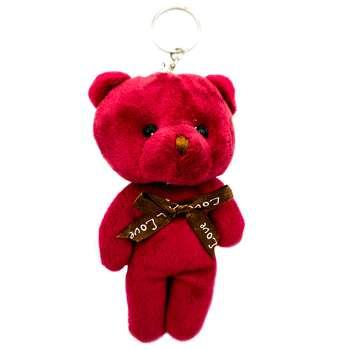 آویز عروسکی خرس مدل کله گنده کد BT11298