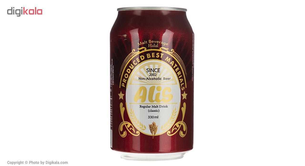 نوشیدنی مالت عالیس با طعم کلاسیک مقدار 330 میلی لیتر main 1 2