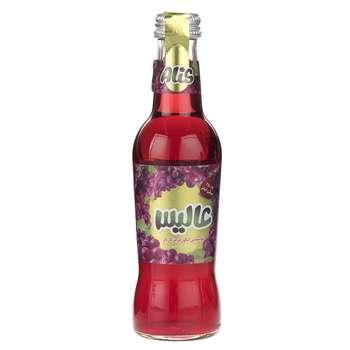 نوشیدنی انگور قرمز گازدار عالیس حجم 250 میلی لیتر