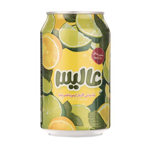 نوشیدنی گازدار لیمو با طعم نعنا - 330 میلی لیتر