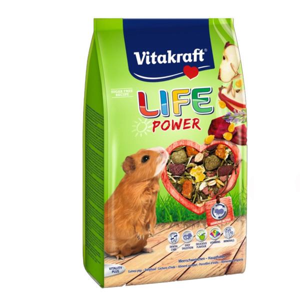 غذای خشک خوکچه ویتاکرافت مدل ویتامینه life power