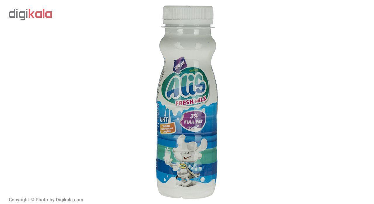 شیر پرچرب فرادما عالیس مقدار 0.2 لیتر main 1 2