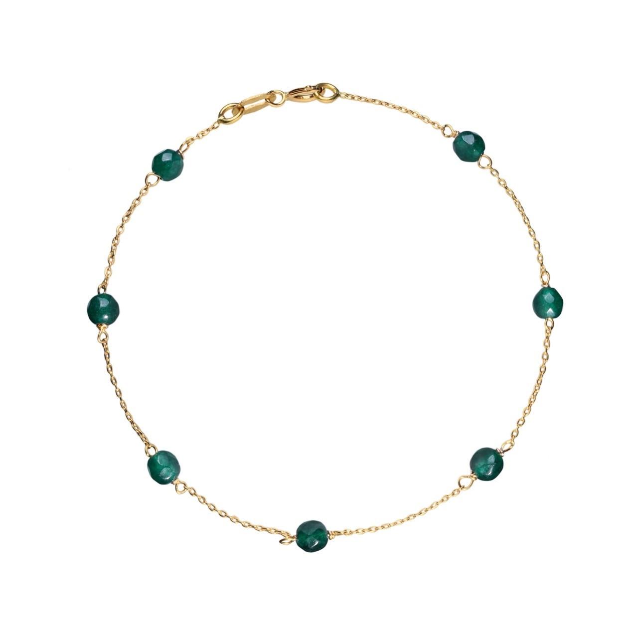 قیمت دستبند طلا 18 عیار گرامی گالری مدل B296