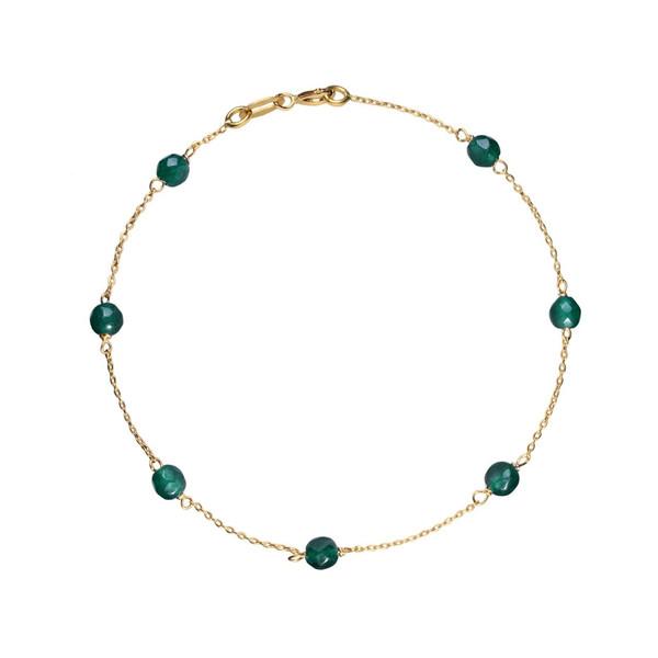 دستبند طلا 18 عیار گرامی گالری مدل B296
