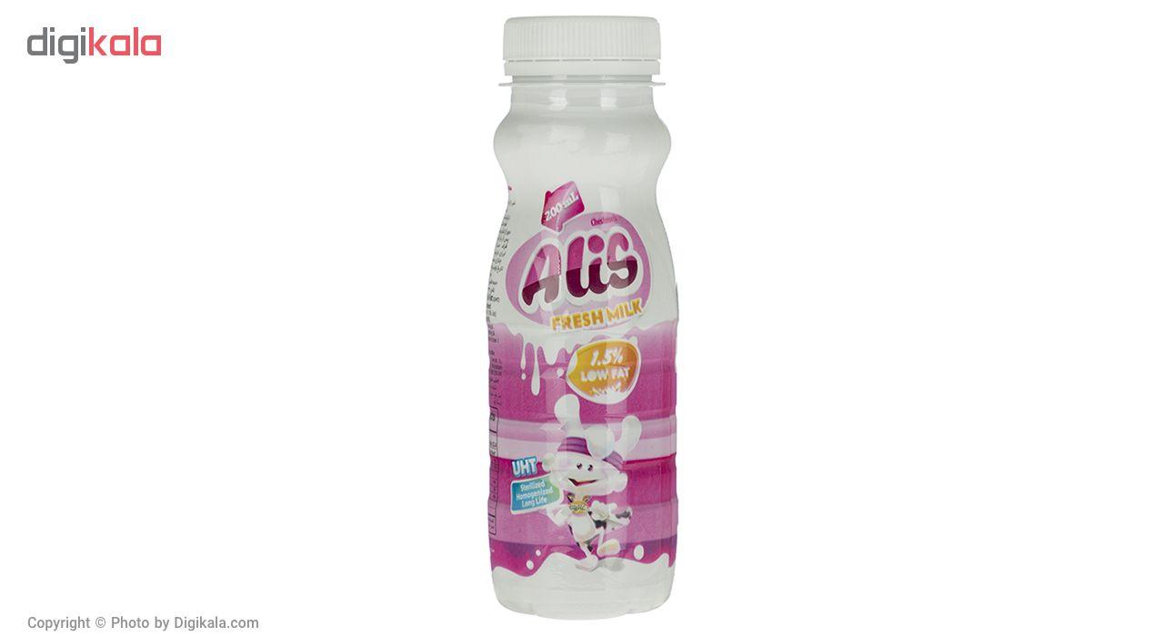 شیر کم چرب فرادما عالیس مقدار 0.2 لیتر