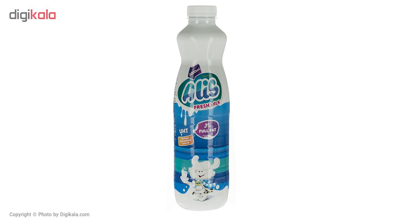 شیر پرچرب فرادما عالیس مقدار 1 لیتر