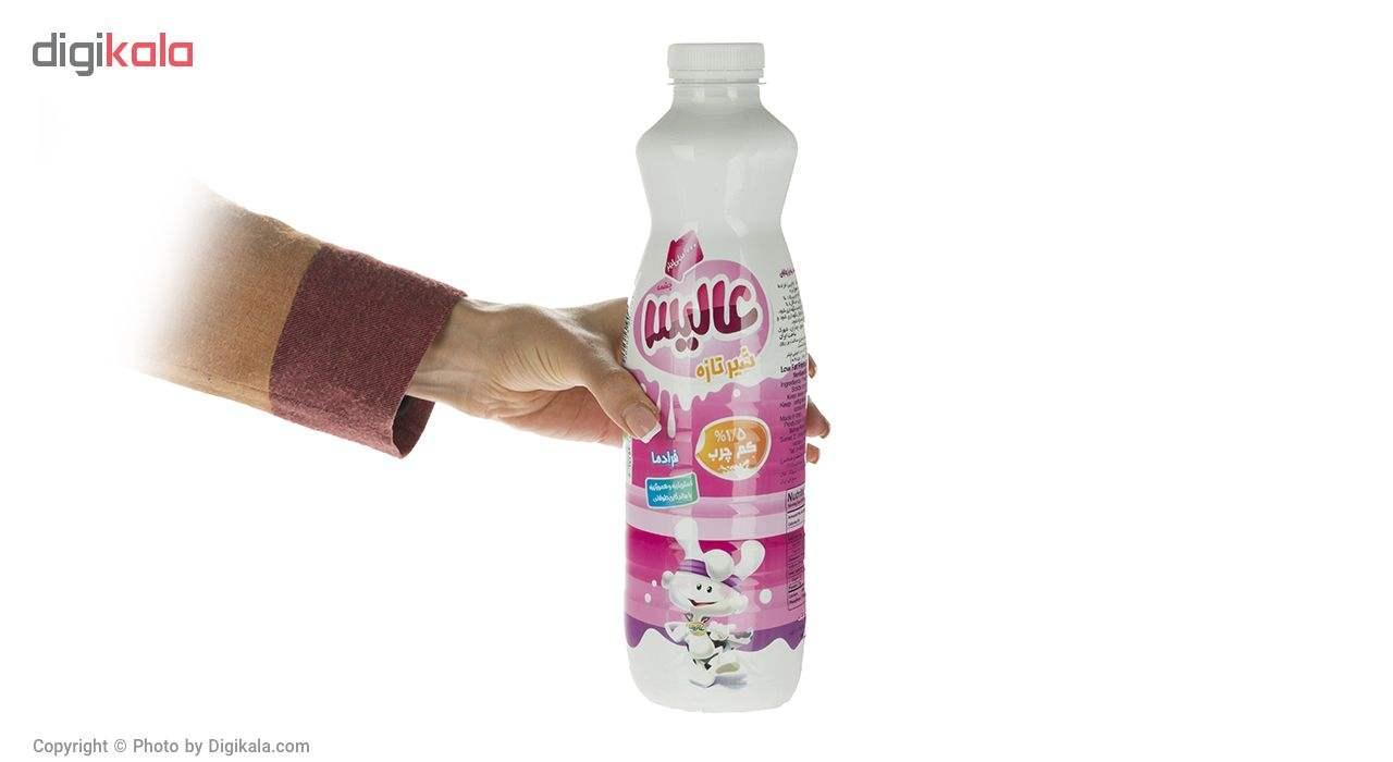 شیر کم چرب فرادما عالیس مقدار 1 لیتر main 1 1