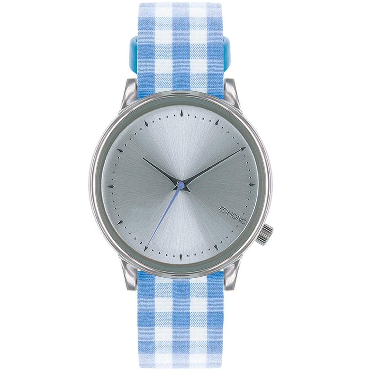 ساعت مچی عقربهای کومونو مدل Estelle Vichy Blue