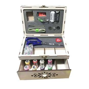 جعبه لوازم خیاطی طرح نگار کد irsa-874 |