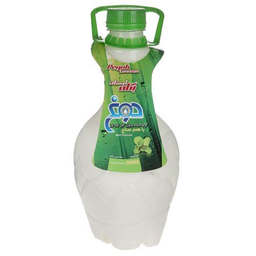 دوغ بدون گاز گرمادیده پگاه با طعم نعناع  مقدار 2.2 لیتر