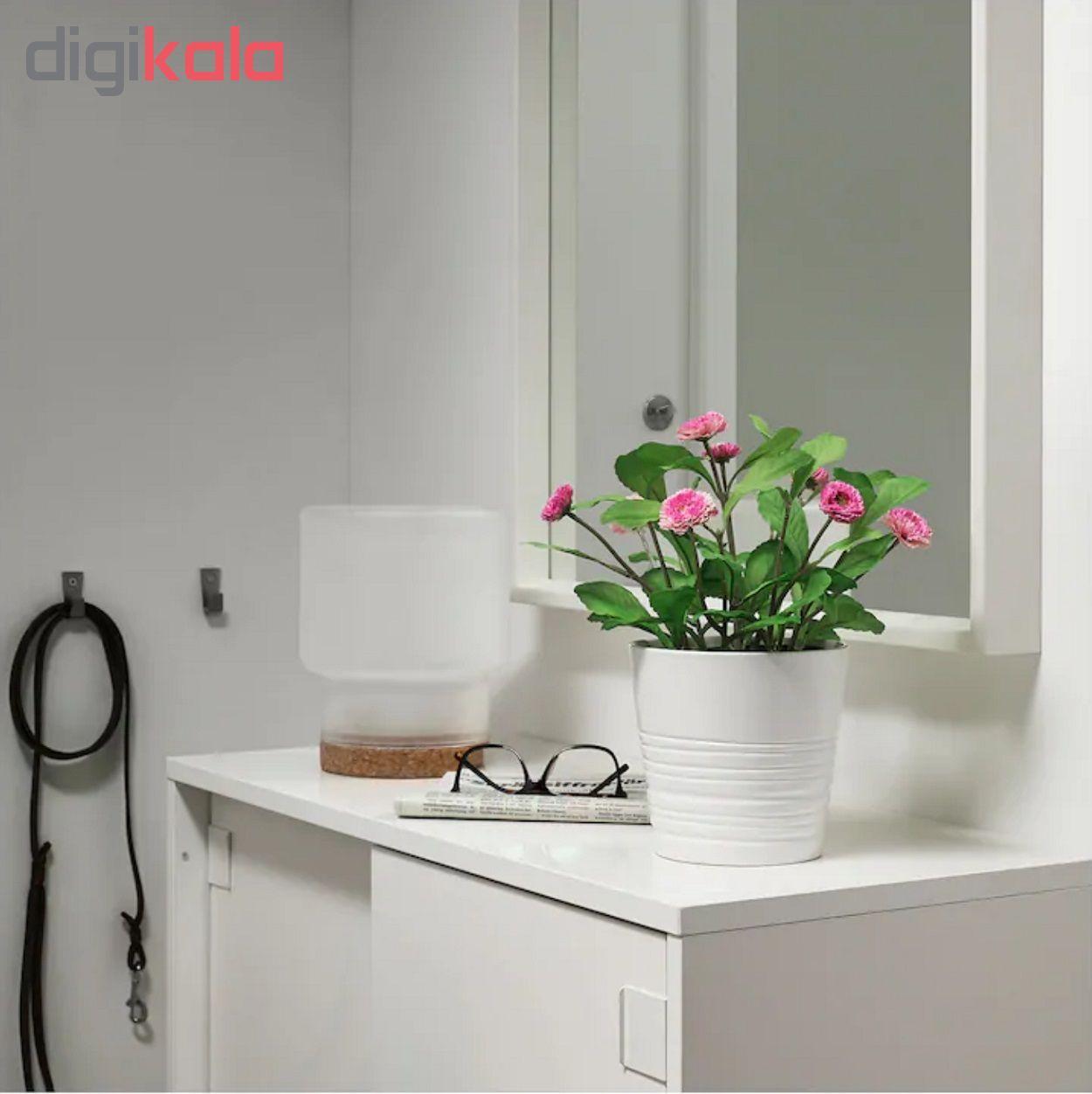 گلدان با گل مصنوعی ایکیا مدل Fejka 70234147  main 1 2