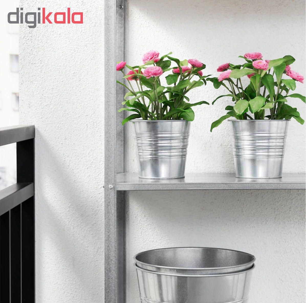 گلدان با گل مصنوعی ایکیا مدل Fejka 70234147  main 1 3